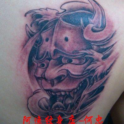 成都 ,般若纹身图
