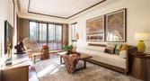 90平米三室两厅东南亚风格客厅设计图