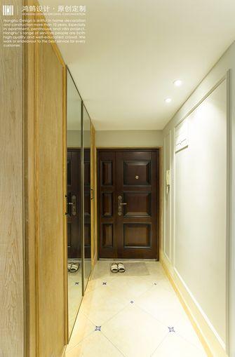 120平米三室两厅美式风格玄关欣赏图