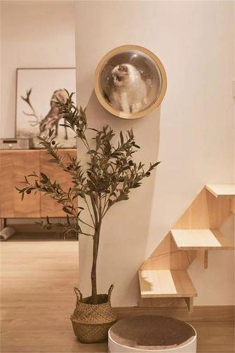 80平米一室一厅日式风格玄关设计图