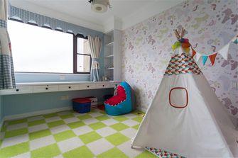 120平米三室两厅美式风格儿童房图片大全