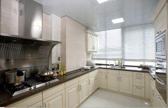 140平米三室两厅欧式风格厨房橱柜图