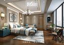 140平米别墅混搭风格卧室家具图片