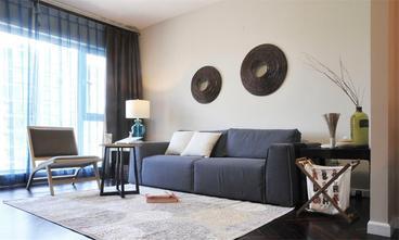 经济型100平米三室一厅北欧风格客厅图片大全