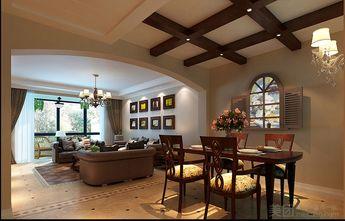 140平米别墅混搭风格餐厅图片