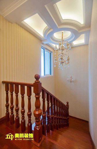 豪华型140平米复式混搭风格楼梯装修效果图