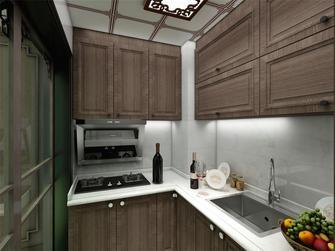 90平米四室一厅中式风格厨房装修图片大全