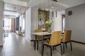 110平米三新古典风格餐厅图片大全