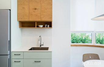 110平米三室一厅北欧风格厨房图片