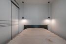 富裕型50平米小户型现代简约风格卧室装修案例