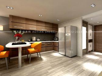 80平米一室两厅欧式风格厨房欣赏图