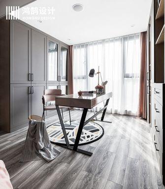 140平米三室两厅现代简约风格衣帽间图片大全