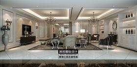富裕型140平米別墅歐式風格餐廳欣賞圖