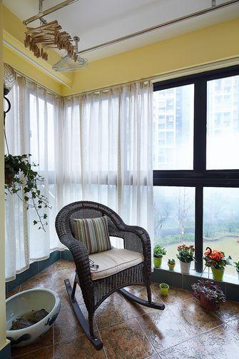 120平米三室一厅美式风格阳台设计图
