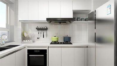90平米三室一厅田园风格厨房装修案例
