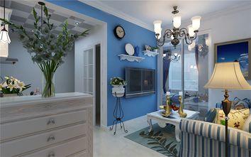 5-10万50平米一室两厅地中海风格客厅图
