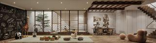 140平米别墅东南亚风格健身室图