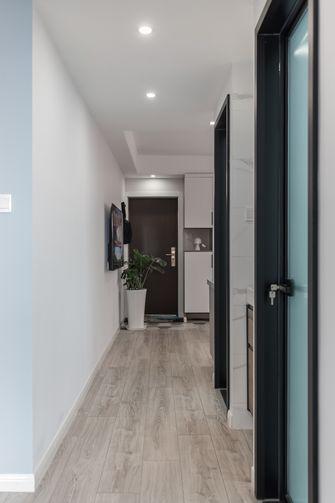80平米三室两厅北欧风格玄关装修案例