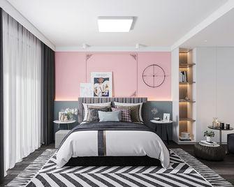 120平米东南亚风格卧室图片
