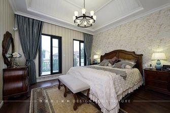 20万以上140平米别墅美式风格卧室效果图