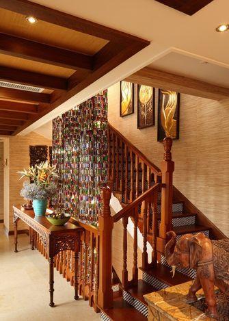110平米别墅东南亚风格走廊图片