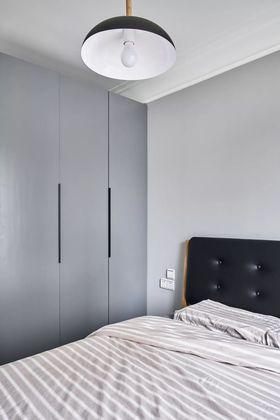 80平米三室兩廳北歐風格臥室圖片大全