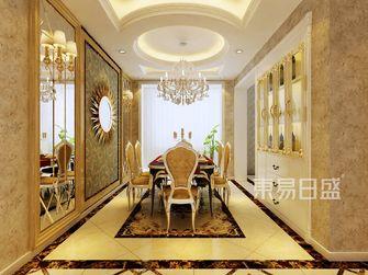 140平米三新古典风格餐厅图片大全