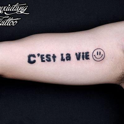 英文纹身图