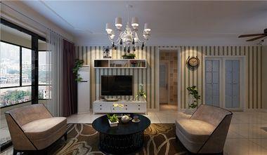 经济型90平米三室两厅北欧风格客厅装修图片大全