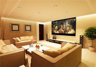 140平米别墅混搭风格影音室设计图