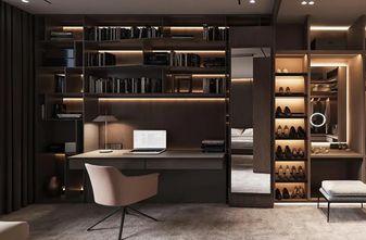 140平米三室两厅混搭风格书房图片