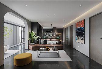 110平米四室两厅现代简约风格客厅装修效果图