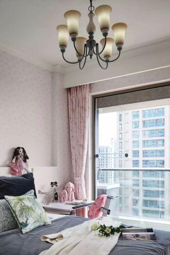 120平米三室五厅美式风格卧室设计图