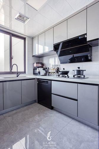 130平米四北欧风格厨房图片