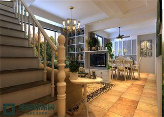 130平米四室两厅混搭风格楼梯装修效果图