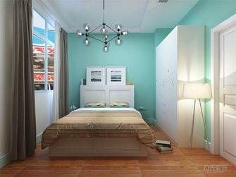 140平米四室三厅田园风格卧室装修案例