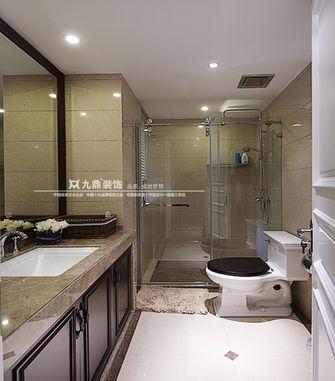经济型110平米三室四厅美式风格卫生间图