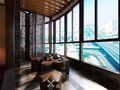 130平米东南亚风格阳台装修效果图