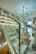 130平米复式现代简约风格楼梯间设计图
