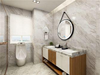120平米三室三厅现代简约风格卫生间装修案例