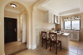 70平米公寓美式风格餐厅装修图片大全