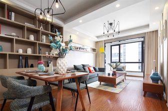 70平米法式风格客厅图