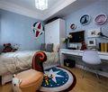 90平米三室两厅混搭风格儿童房装修效果图