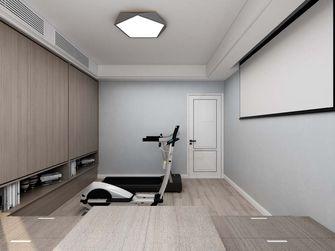140平米复式现代简约风格健身室装修效果图