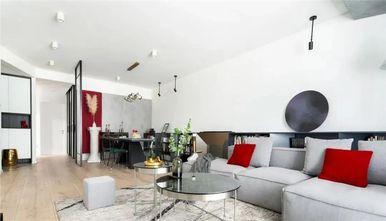 110平米三室两厅欧式风格客厅图
