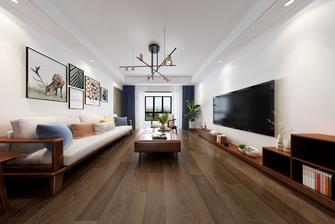 豪华型140平米四室一厅现代简约风格客厅装修图片大全