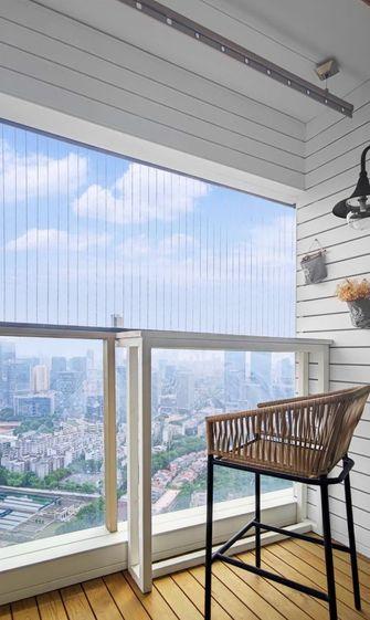 80平米三宜家风格阳台欣赏图