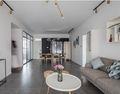 60平米一居室混搭风格客厅效果图