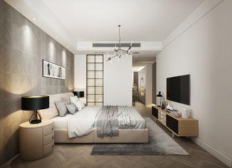 140平米四室三厅北欧风格卧室图片