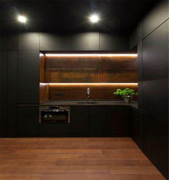 60平米公寓混搭风格厨房装修效果图